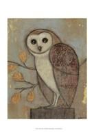 "Ornate Owl II by Norman Wyatt Jr. - 13"" x 19"", FulcrumGallery.com brand"