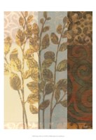 """Tapestry with Leaves I by Norman Wyatt Jr. - 13"""" x 19"""" - $12.99"""