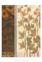 """Tapestry with Leaves II by Norman Wyatt Jr. - 13"""" x 19"""" - $12.99"""