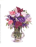 Plum Lilacs Fine Art Print
