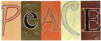 "Peace Panel by Norman Wyatt Jr. - 20"" x 8"""