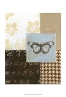 "Chic Butterfly I by Norman Wyatt Jr. - 13"" x 19"", FulcrumGallery.com brand"