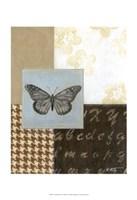 "Chic Butterfly II by Norman Wyatt Jr. - 13"" x 19"", FulcrumGallery.com brand"