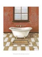"""Upscale Bath I by Norman Wyatt Jr. - 10"""" x 13"""" - $10.49"""
