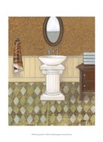 Upscale Bath IV Fine Art Print
