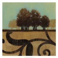 """Mediterranean Twilight I by Norman Wyatt Jr. - 25"""" x 25"""", FulcrumGallery.com brand"""