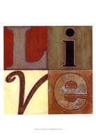 "Live a Lot by Norman Wyatt Jr. - 13"" x 19"", FulcrumGallery.com brand"