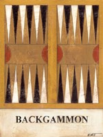 Backgammon Fine Art Print