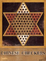 Chinese Checkers Fine Art Print