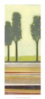 Park II Framed Print