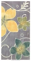 """Tropical Whimsy II by Vision Studio - 13"""" x 25"""""""