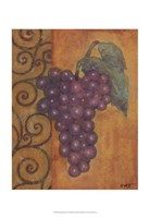 """Scrolled Grapes I by Norman Wyatt Jr. - 13"""" x 19"""""""