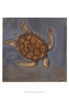 "Sea Turtle I by Norman Wyatt Jr. - 13"" x 19"""