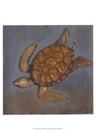 """Sea Turtle II by Norman Wyatt Jr. - 13"""" x 19"""""""