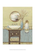 Seabreeze Bath I Fine Art Print