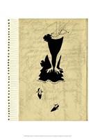 Flapper Fashion I Framed Print