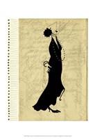 Flapper Fashion II Framed Print
