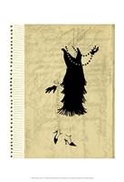 Flapper Fashion IV Fine Art Print