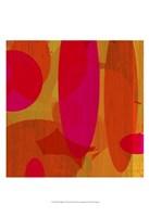 Warm Ellipses II Fine Art Print