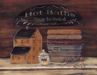 Hot Bath Fine Art Print