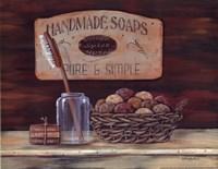Handmade Soaps Framed Print