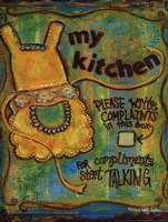 My Kitchen Fine Art Print