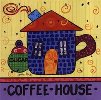 Coffee House Fine Art Print