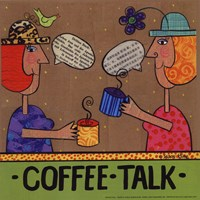 Coffee Talk Fine Art Print