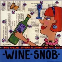 Wine Snob Fine Art Print