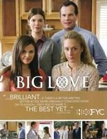 "Big Love HBO - 11"" x 17"", FulcrumGallery.com brand"