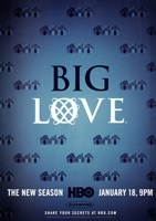 "Big Love Logo - 11"" x 17"", FulcrumGallery.com brand"