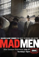 Mad Men - man in crowd Wall Poster