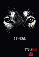 True Blood Bewere Wall Poster