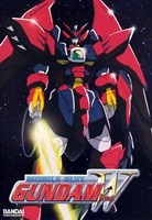 New Mobile Report Gundam Wing 3 Wall Poster