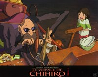 """Spirited Away (French Title) - 14"""" x 11"""""""
