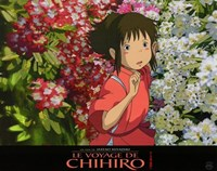 """Spirited Away (French Title) - flowers - 14"""" x 11"""""""