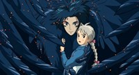 Howl's Moving Castle Howl Hair Scene Fine Art Print