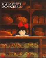 Kiki's Delivery Service (French Title) Fine Art Print