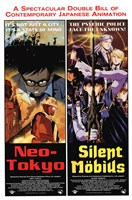 Neo-Tokyo Silent Mobius Wall Poster