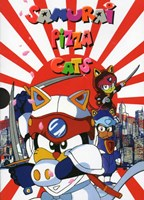 Samurai Pizza Cats Wall Poster