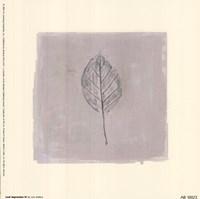 Leaf Impression lV Fine Art Print