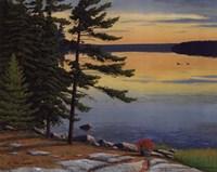 """Sunrise Shore by Jake Vandenbrink - 10"""" x 8"""""""