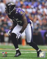 Terrell Suggs 2010 Action Fine Art Print