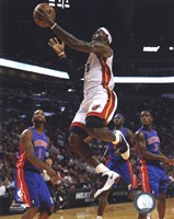 LeBron James 2010-11 Action Fine Art Print