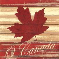 "O Canada by Jo Moulton - 6"" x 6"""
