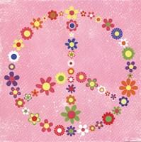 Peace Flowers II Fine Art Print