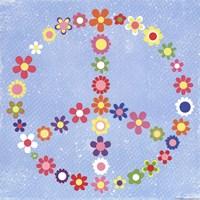 Peace Flowers I Fine Art Print