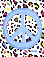 "Leopard Peace by Louise Carey - 11"" x 14"""