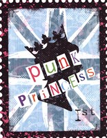 Punk Princess Framed Print