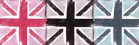 Union Jack Three Square I Framed Print